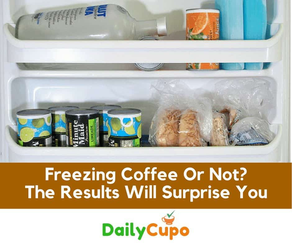 Freezing Coffee or not