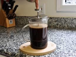 extract the coffee
