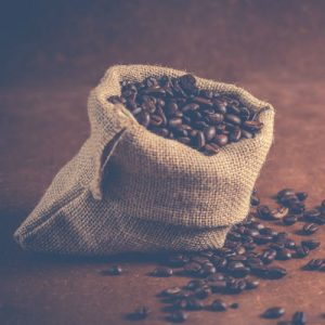 Coffee beans main page