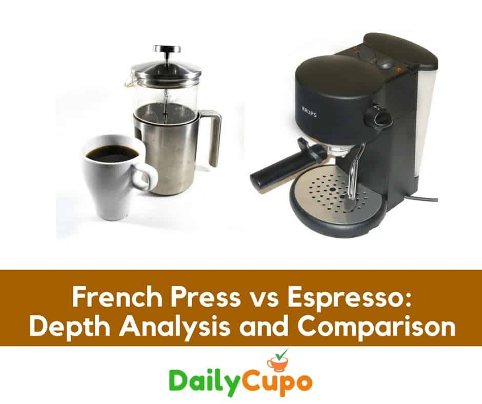 French Press vs Espresso