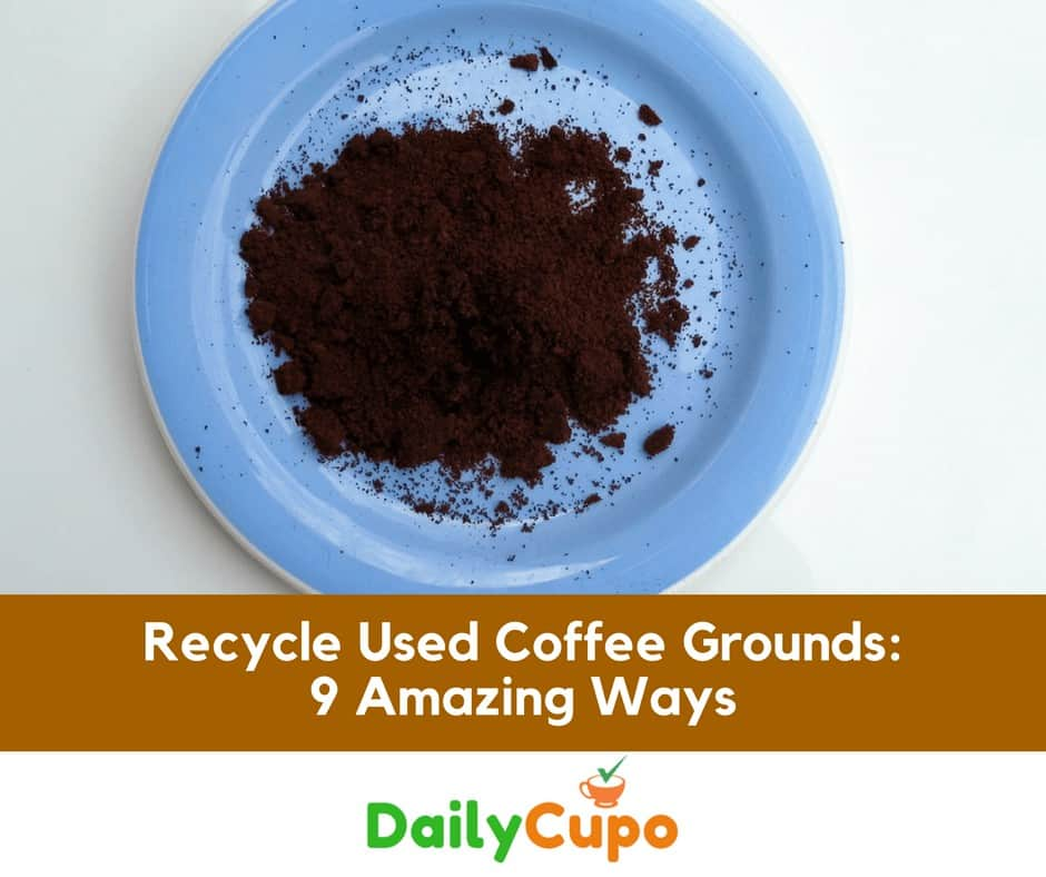 Recycle Used Coffee Ground