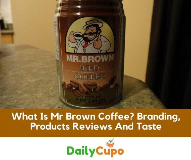 What Is Mr Brown Coffee