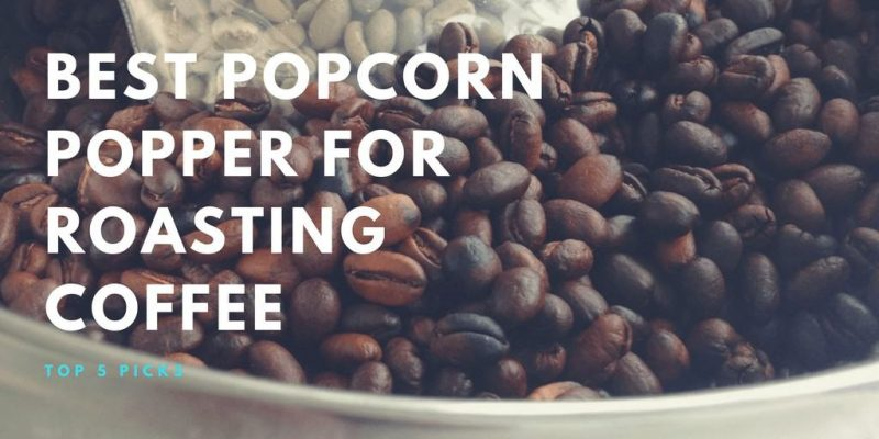 5 Best Popcorn Poppers for Roasting Coffee (Updated 2019)