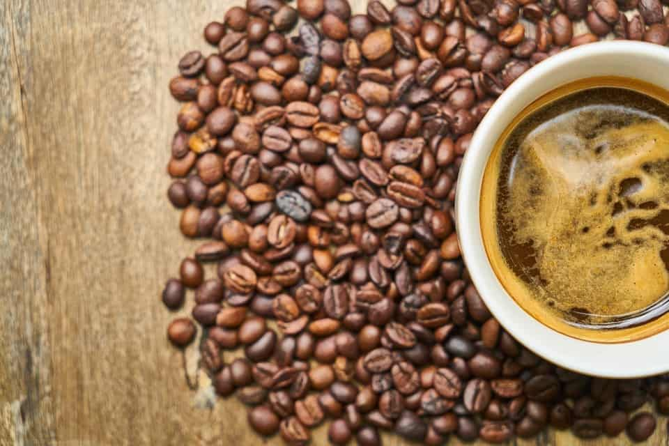 Jamaican Coffee brewing