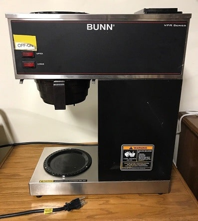 Bunn VPR Series Coffee Maker Review
