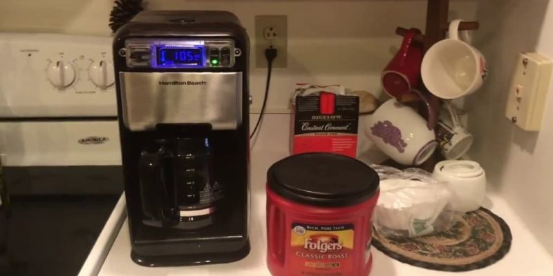 Hamilton Beach 46205 Coffee Maker Review (2019)