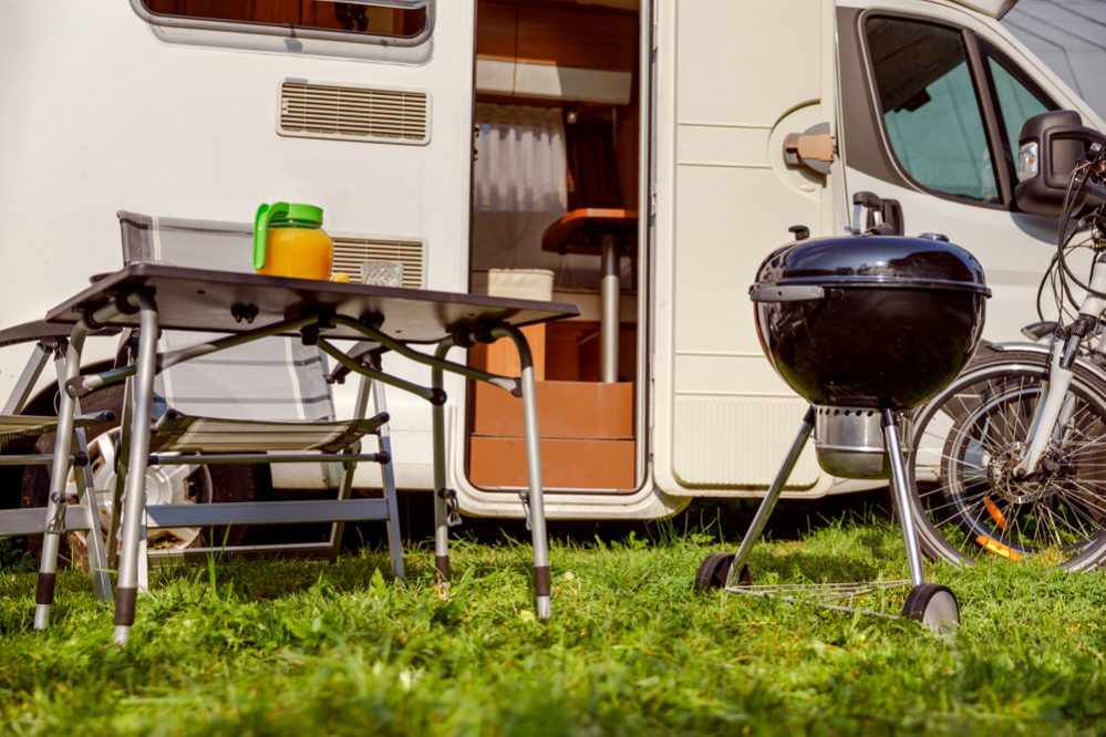 Best Portable Propane Gas Grill for RV construction