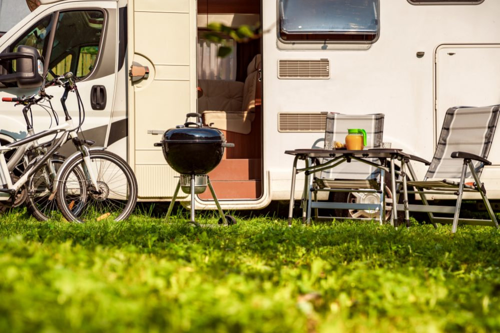 Best Portable Propane Gas Grill for RV portability