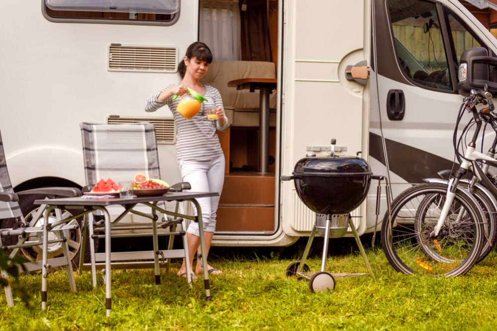Best Portable Propane Gas Grill for RV size