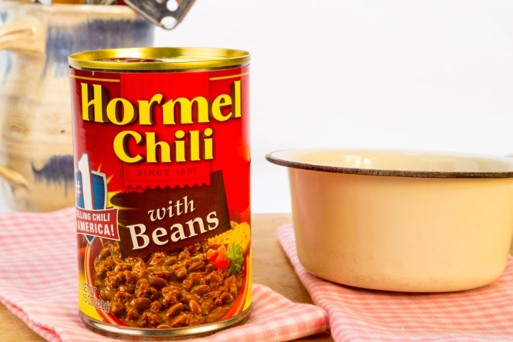 Best Canned Chili spiciness
