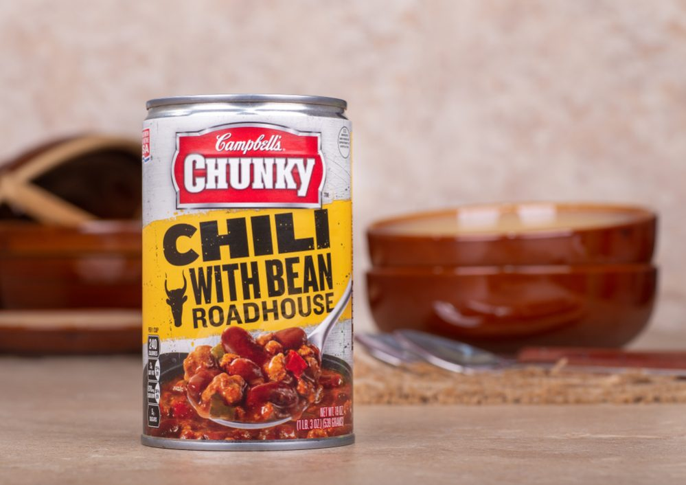 Best Canned Chili thickness