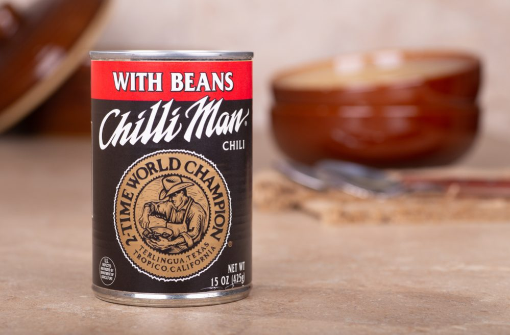 Best Canned Chili types
